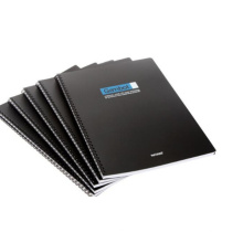 Cahier de couverture de PVC souple de haute qualité avec la conception d'OEM