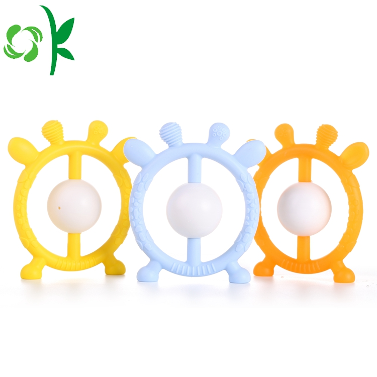 banana silicone teether