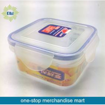 300ml square plastic food container