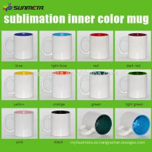 SUNMETA suministra la taza revestida de cerámica para la venta al por mayor de la sublimación