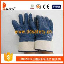 Jersey Blue Nitril Handschuh Dcn511