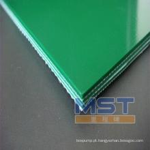 Correias transportadoras de PVC / PU de alta resistência