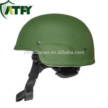 NIJ nivel IIIA Army Aramid MICH Casco militar balístico a prueba de balas