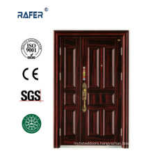 New Design and High Quality Mother Son Steel Door (RA-S141)