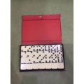 Double 6 Ivory domino packed in PVC box