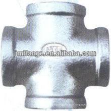Croix filetée en acier inoxydable haute pression forgée