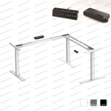 Three Motor Intelligent Autormatic Electric Height Adjustable Lift/Standing Office Computer Desk