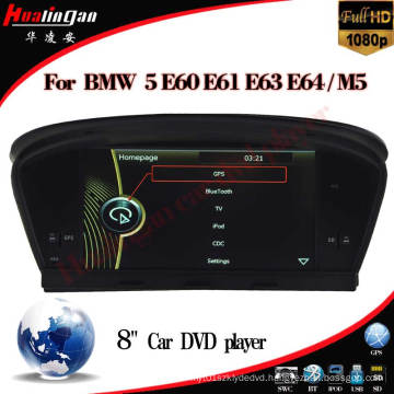 Car Multimedia DVD Player for BMW 5 Series E60 E61 E63 E64 BMW M5 (HL-8808GB)