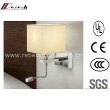 Hotel Aluminium LED Bedside Lesung Wand Lampe