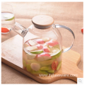 Glass Kettle High Boronsilicon Cold Fruit Pitcher