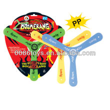 Promocional Boomerang Frisbee Plastic Boomerang