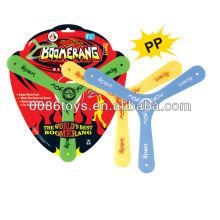 Promotional Boomerang Frisbee Plastic Boomerang
