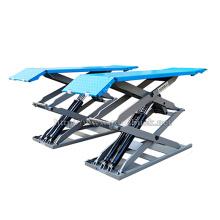CE hydraulic small platform scissor car lift/used car scissor lift for sale