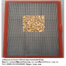 Korntrocknungsboden Johnson Bildschirm vibrierende Siebbeläge