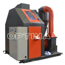 Plc Copper Wire Recycling Machine , Waste Cable Granulator Separator