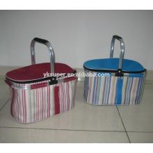 Cesta de piquenique saco de refrigerador de alimentos inteiros isolados Picnic Cooler Bag