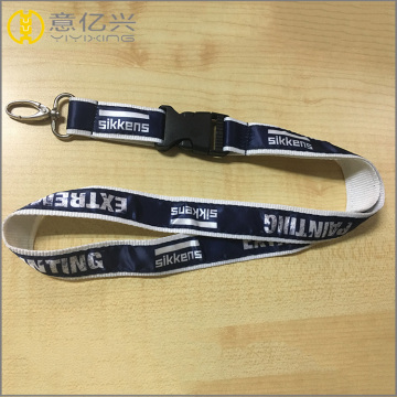 Custom college coiled sublimation lanyard för presenter