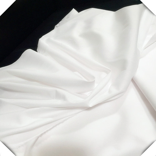 Polyester Cotton Mixed Woven Bleach White Fabric