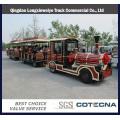 Tren turístico de China Popular Diesel con 02 entrenadores