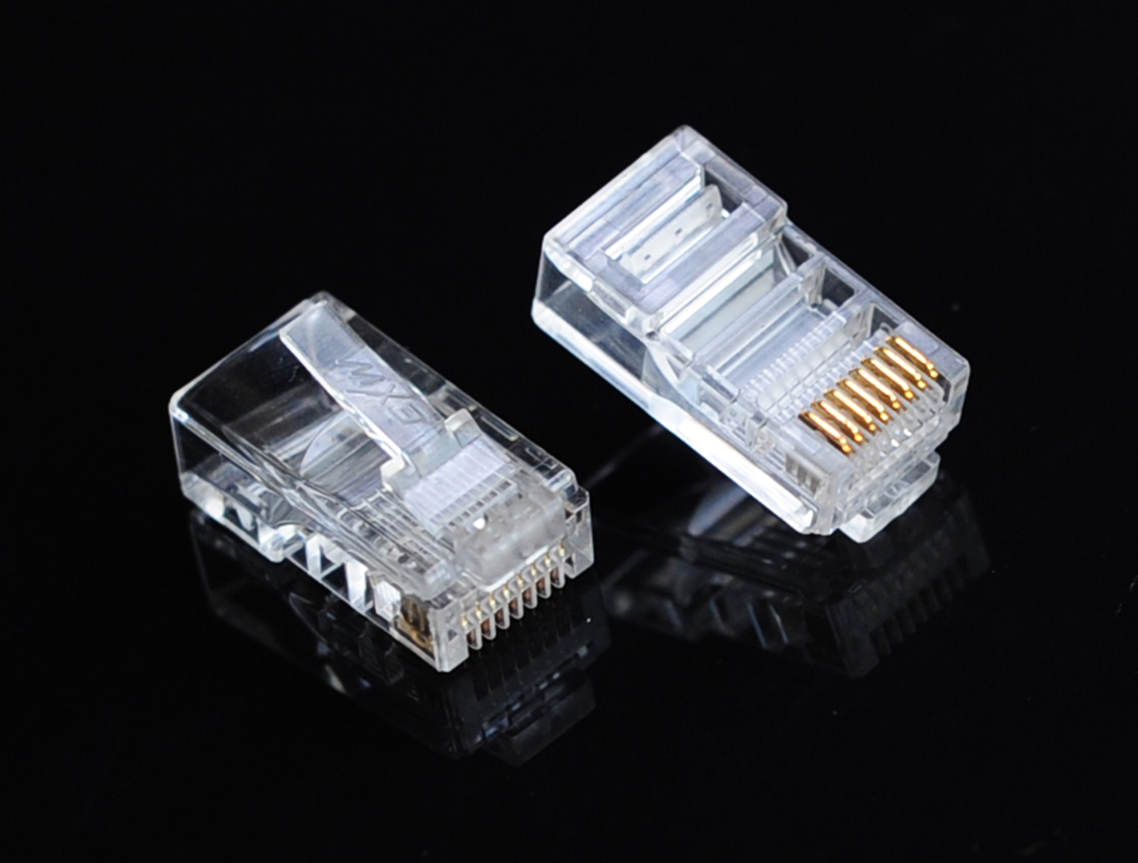 RJ45 Cat 5E Crimp Plug