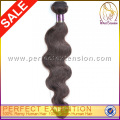 Körper-Welle auf Linie 3 Stück starken Schuß Fabrik Verkauf unverarbeitet 5a peruanischen Haar