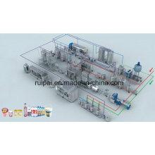 Línea de producción de yogur (1-50TPH)
