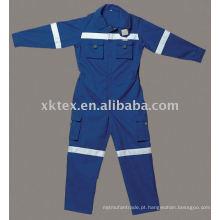 100 uniformes à prova de fogo de algodão