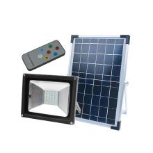 Projetor conduzido solar impermeável do jardim IP65