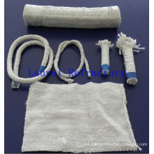 Low Thermal Conductivity Refractory Ceramic Fiber Textile, Ceramic Fiber Cloth, Tape, Twisted Rope