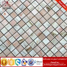 Los productos de los hots de la fábrica de la fuente de China mezclaron el mosaico Caliente-derretimiento para la teja de la piscina