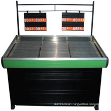 Hot selling Vegetable fruit rack with stainless steel laminate