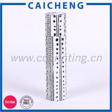 Нестандартная конструкция цилиндрической формы с длинным круглая бумажная коробка подарка