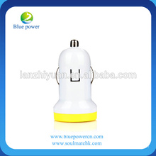 2013 New Products CE RoHS Approved 5V 1A Light up Car Charger