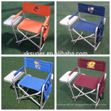 Outdoor Camping Sport Picnic Fishing Director Chair Fold Portable Seat W / Table