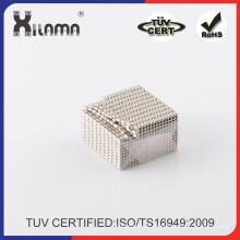 Pequeño imán de NdFeB barato Super potente NdFeB N35 magnético imanes del bloque