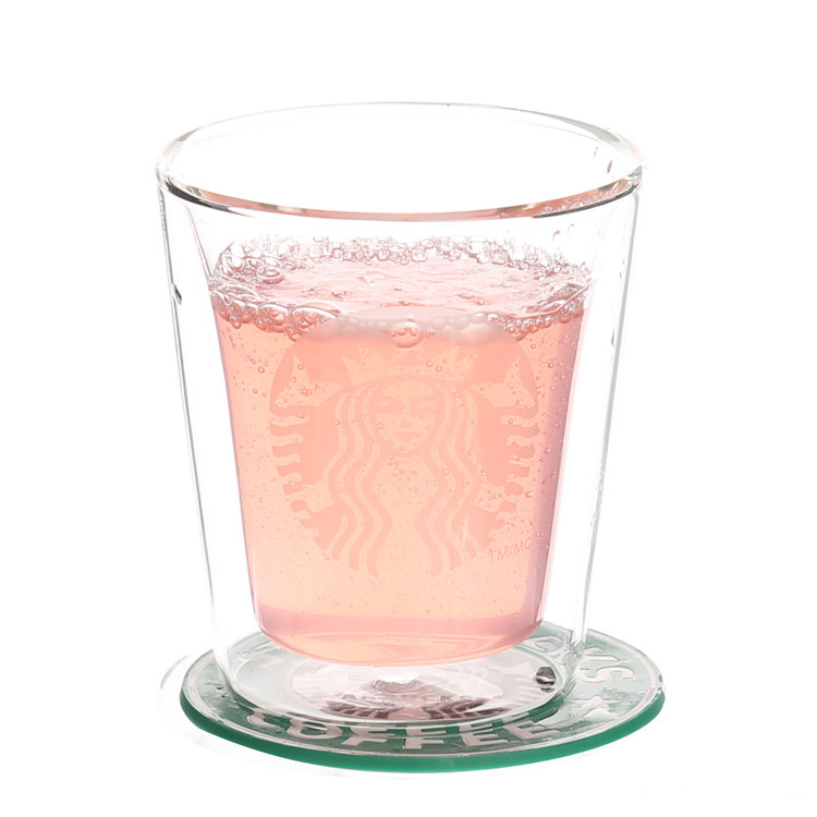 Double Walled Dishwasher Safe Glass Mugs For Decaf Coffee