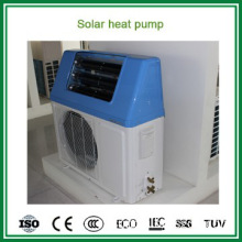 Household use high COP 5.32 air souce heat pump + solar water heater
