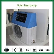 Household use high COP 5.32 air souce heat pump + solar water heater