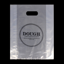 Polythene Bags Printing Clear Die Cut Bag