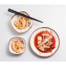 100% Melamin Sauce Gericht / Würze Dish / Square Plate (At075-04)