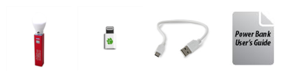 Power Bank Micro USB Charging Cable