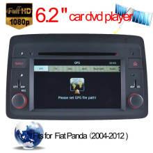 Reproductor de DVD de coche para FIAT Perla Navegación GPS con Tmc DVB-T iPod (HL-8844GB)