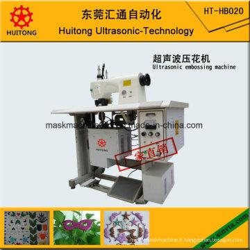 Machine à gaufrer ultrasonique automatique de dentelle