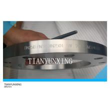 Кованый DIN Pn16 Плоская лицевая панель Фланец из нержавеющей стали