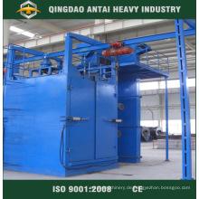 Aufhängungs-Art-Strahlen-Maschine für mittlere Metallteile