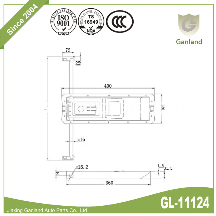 Pastore And Lombardi Lock GL-11124