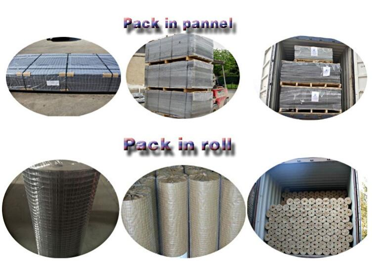 Temporary Fence Infill Galvanised Weld Mesh Sheet