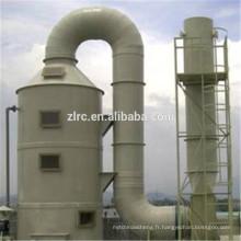 Processus complet de traitement des gaz résiduaires organiques Oxydant thermique régénératif (RTO)