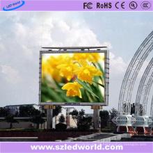 Grande fábrica da placa da tela de exposição da propaganda do diodo emissor de luz do ângulo de visão P8