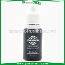 Getbetterlife Permanent Non toxique 15ml sourcil à la mode noir d'encre